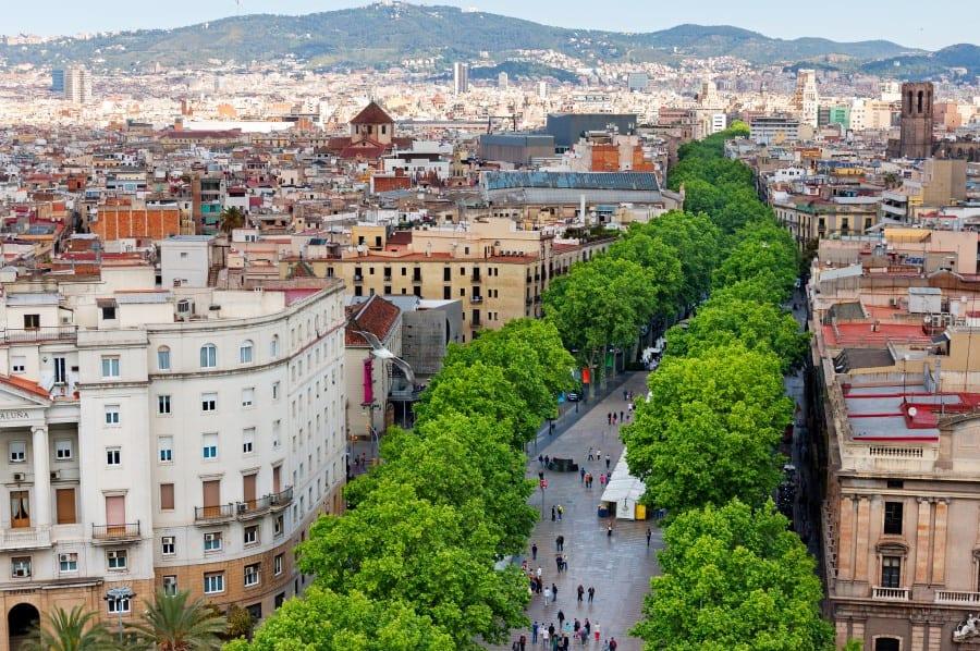 История бульвара рамбла в Барселоне