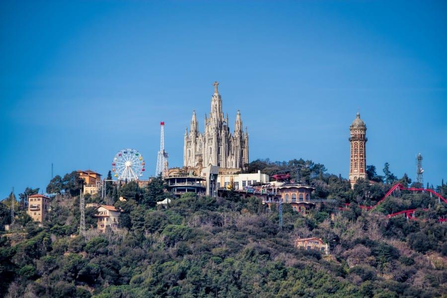История исследования горы Тибидабо в Барселоне