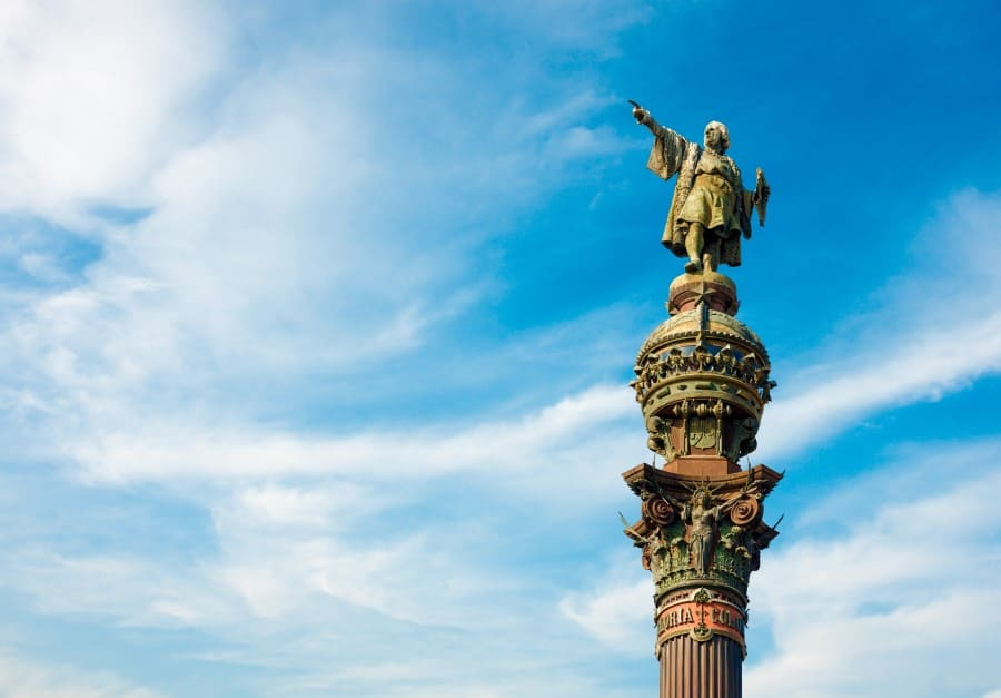 История возникновения памятника Колумбу в Барселоне