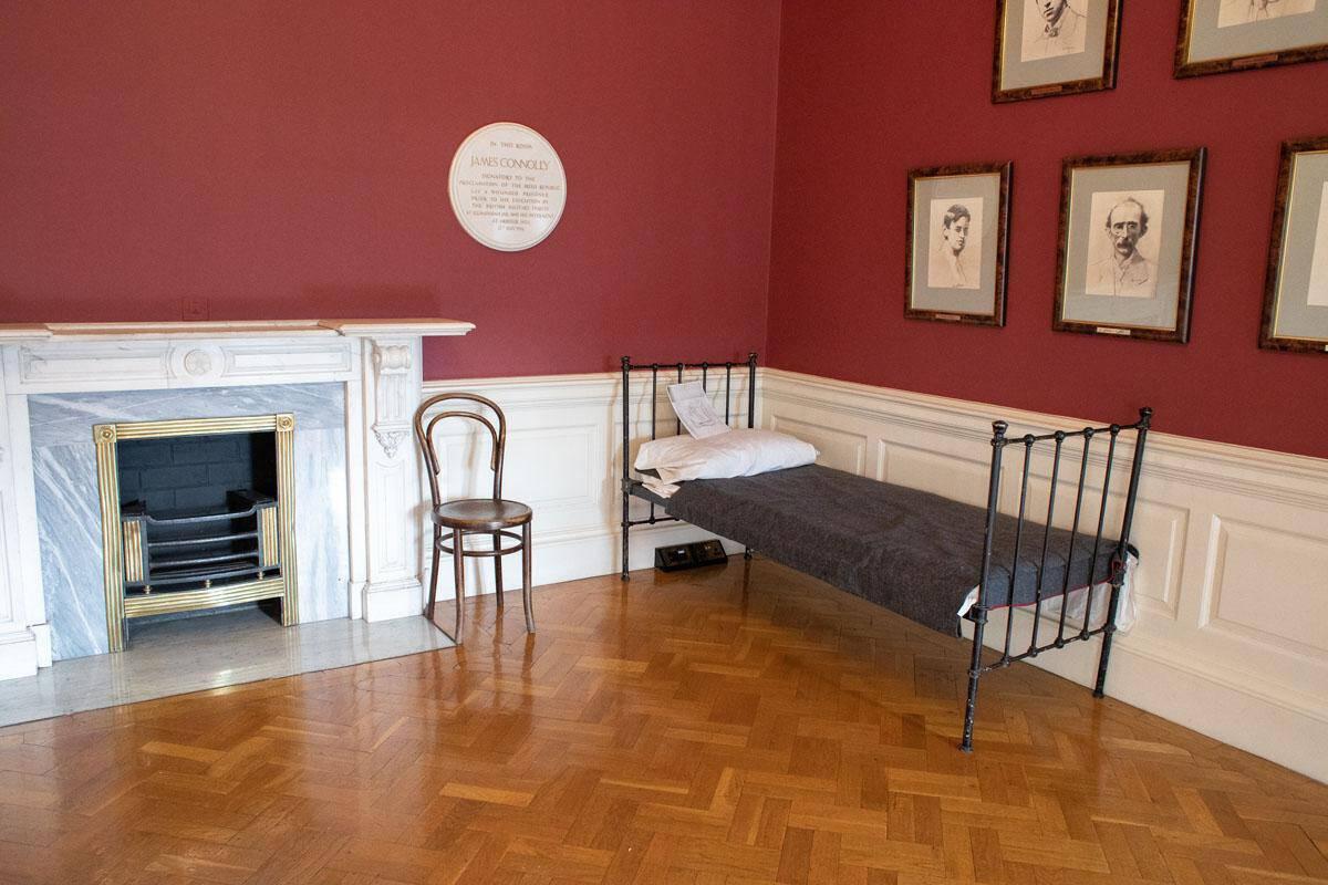 Комната Джэймса Коннолли в Дублинском замке