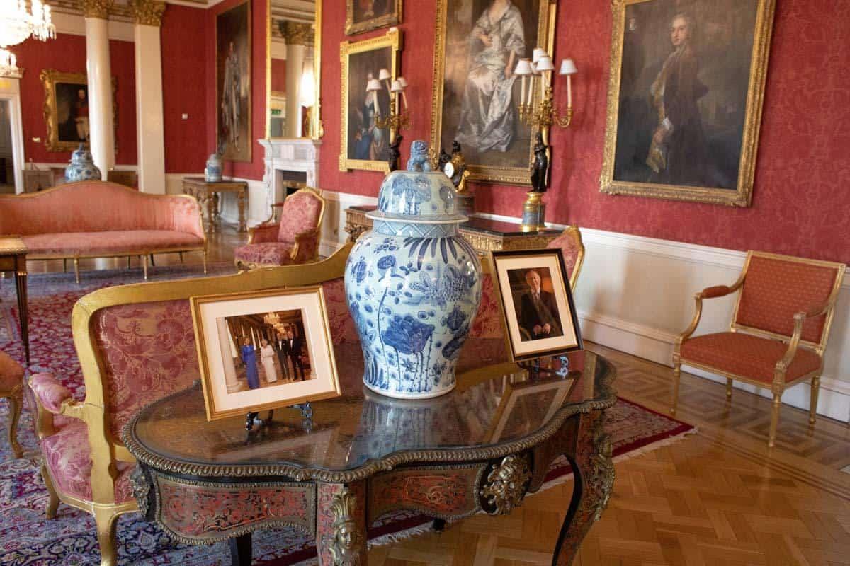 Комнаты отдыха в Дублинском замке