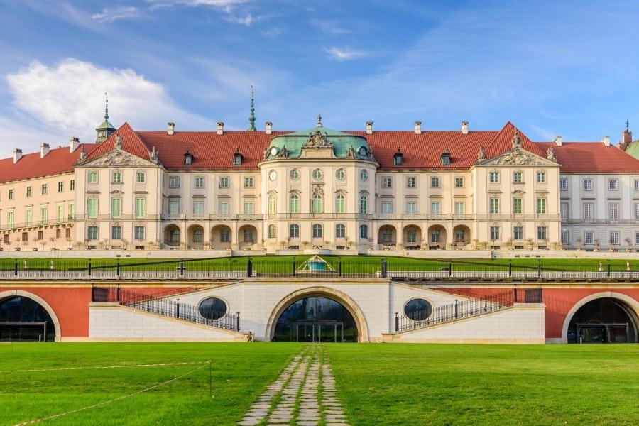 Королевский дворец Варшавы