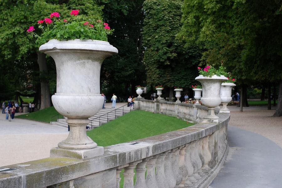 Люксембургский сад в Парижа
