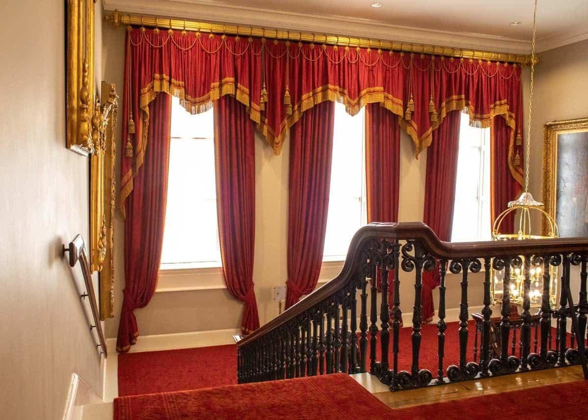 Мраморная парадная лестница в Дублинском замке