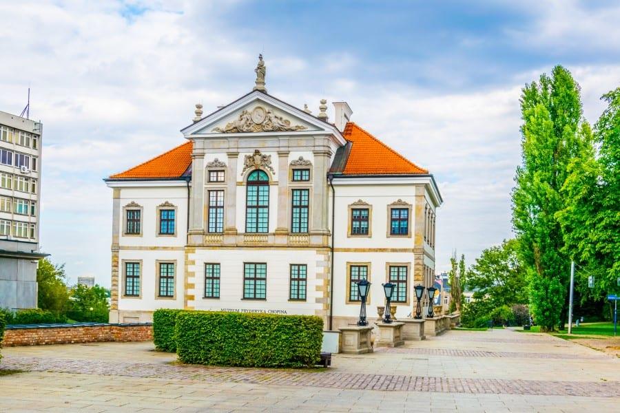 Музей Фредерика Шопена в Варшаве (Польша)