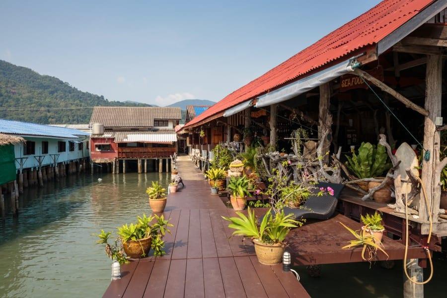 Немного о рыбацкой деревни Банг Бао