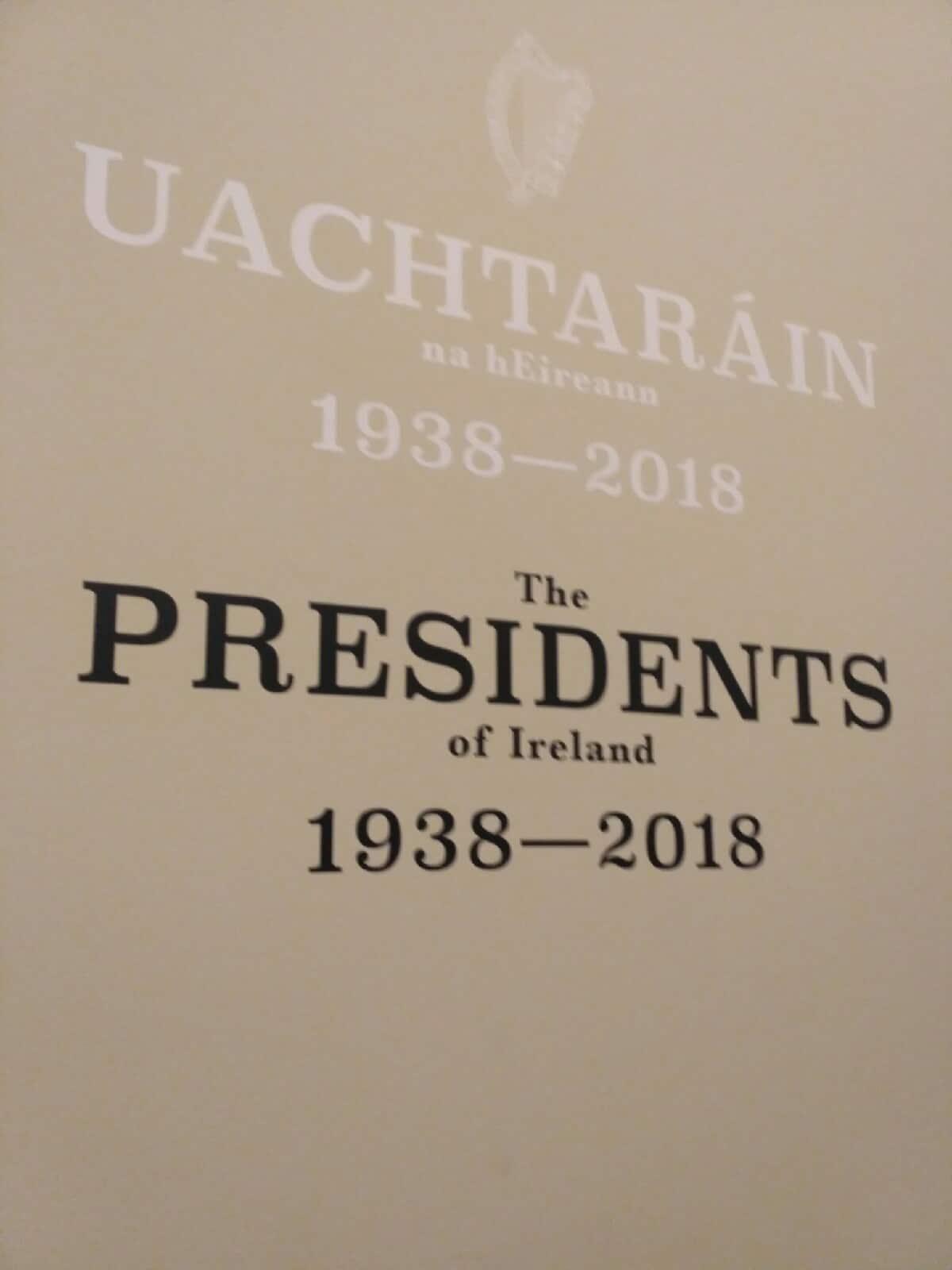 Описание президентов в коридорах Дублинского замка