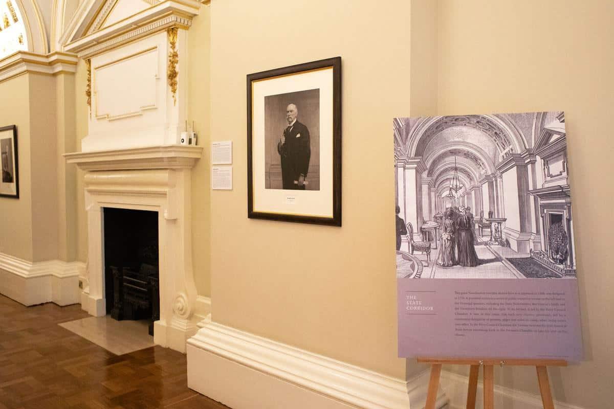 Портреты президентов Дублинского замка