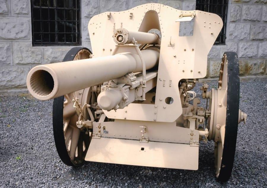 Пушка в Музее Войска Польского