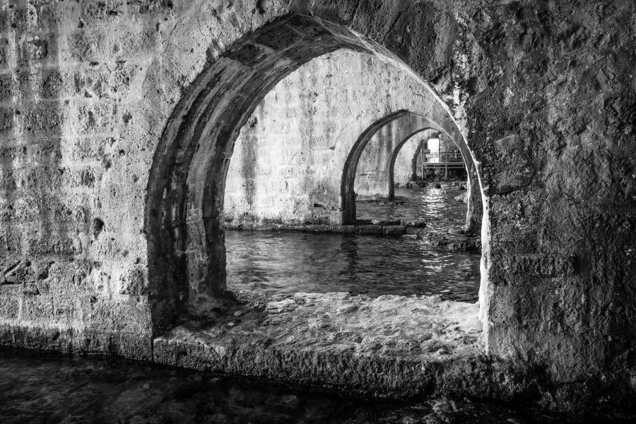 Руины крепости Алании изнутри