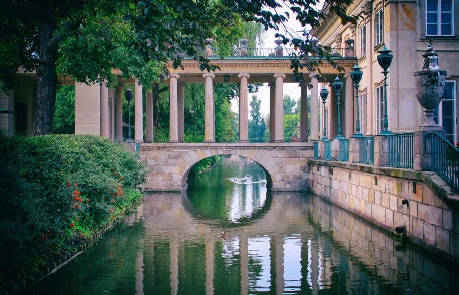 Сады королевского дворца Варшава