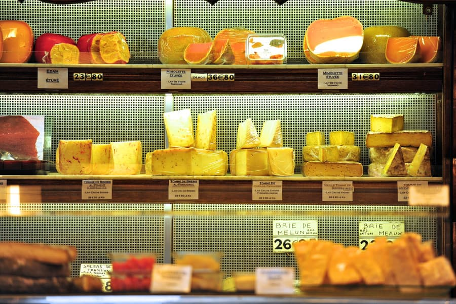 Супермаркеты Парижа