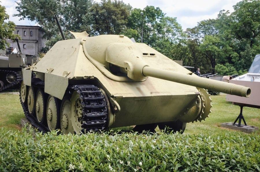 Танк в Музее Войска Польского