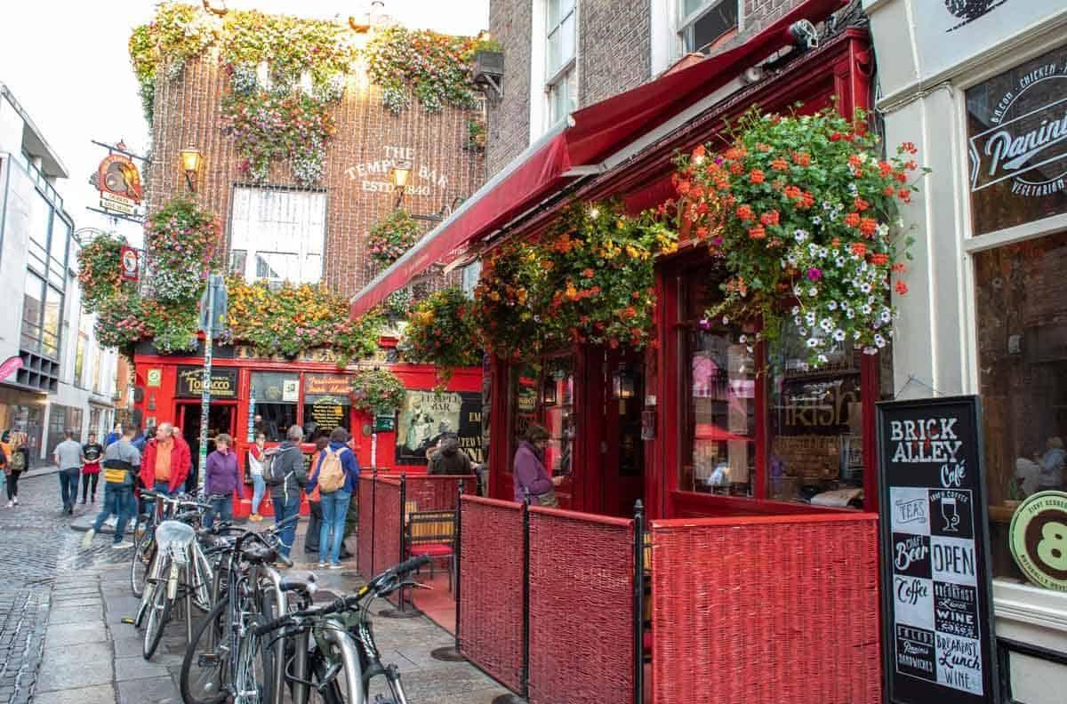 Темпл бар — самый известный район Дублина