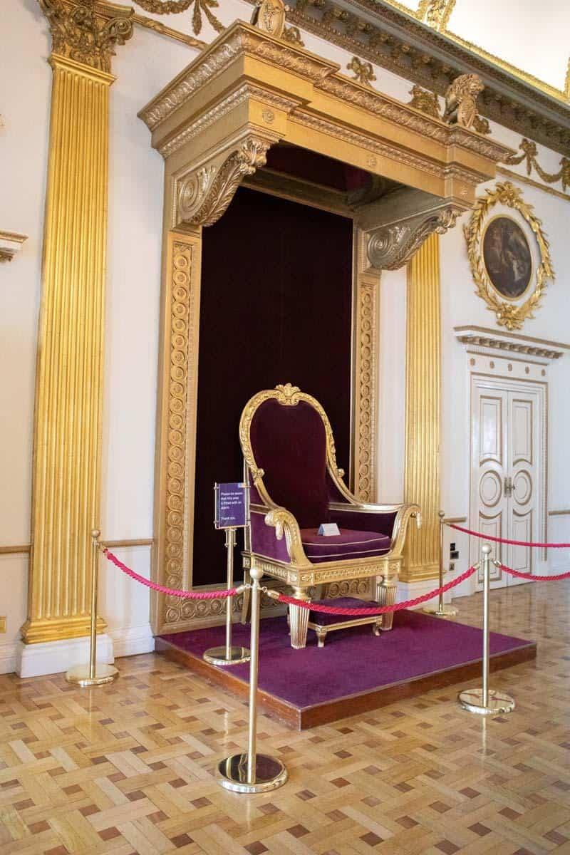 Тронный или Приемный зал в Дублинском зале