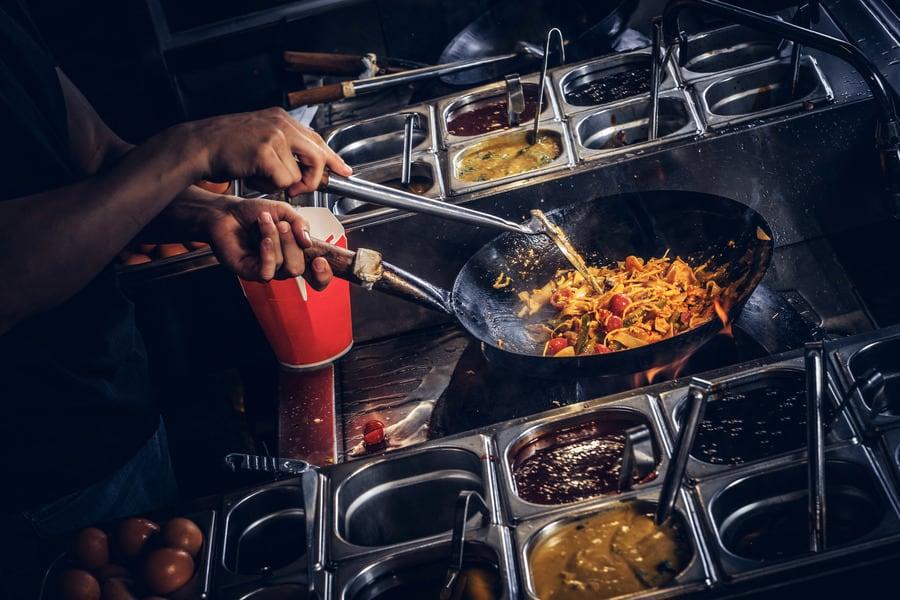 Уличная кухня на Пхукете