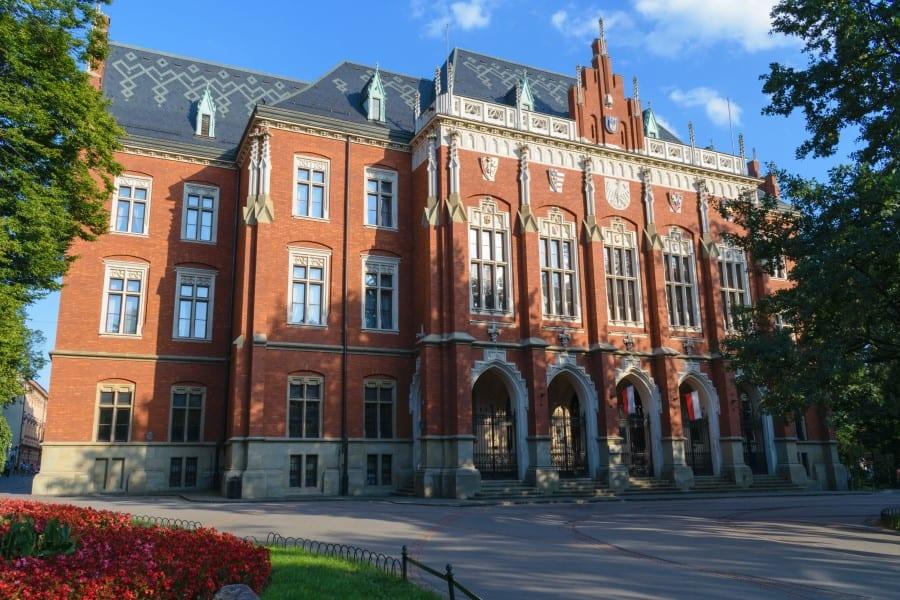 Ягеллонский университет и музей в Кракове (Польша)