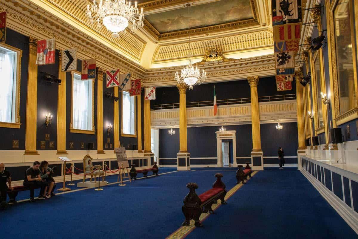 Зал Святого Патрика в Дублинском зале