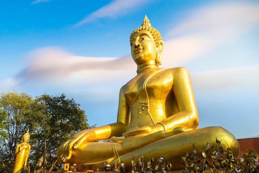 Золотой Большой Будда в Паттайе