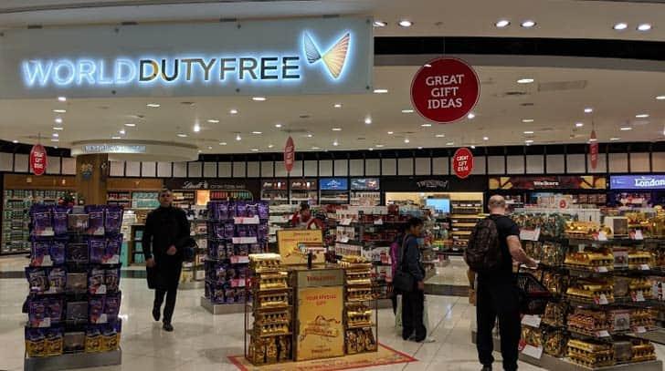 Магазины duty free
