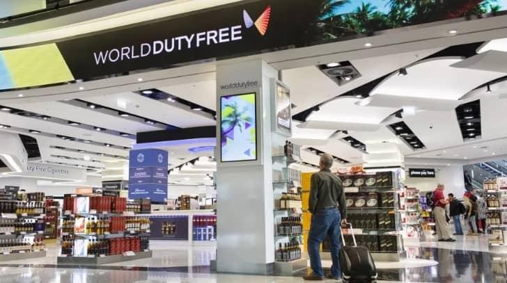 duty free в аэропорту