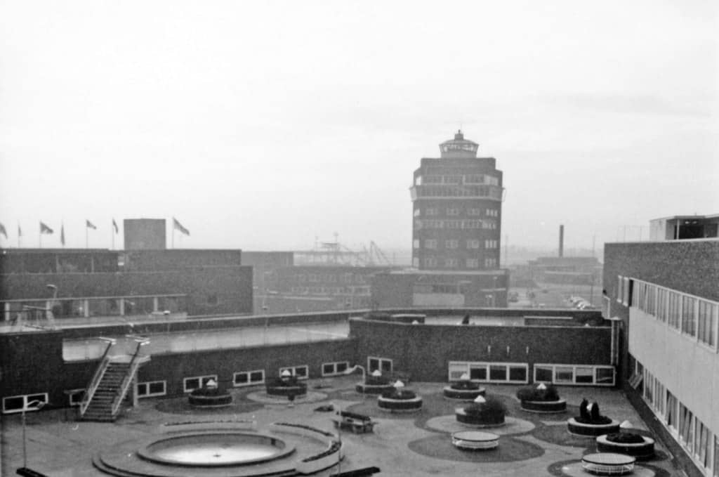 Здание Хитроу в 1960