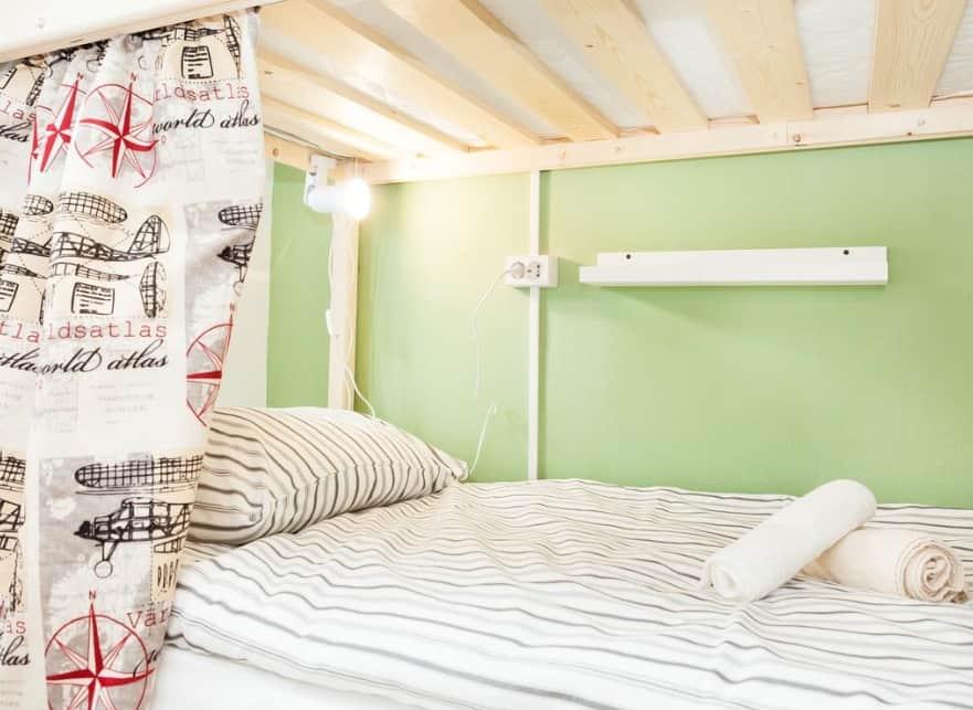 Кровать в Хостел Рус