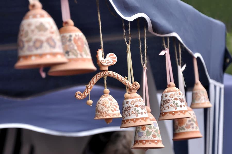 керамика колокольчики