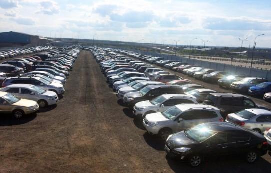 Машины Аэропорт паркинг Внуково
