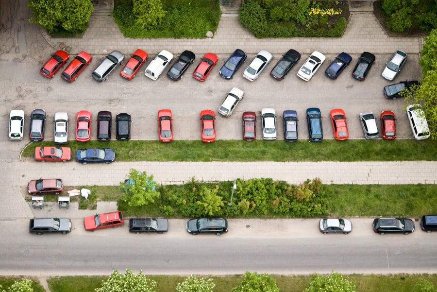 парковка в Вильнюсе