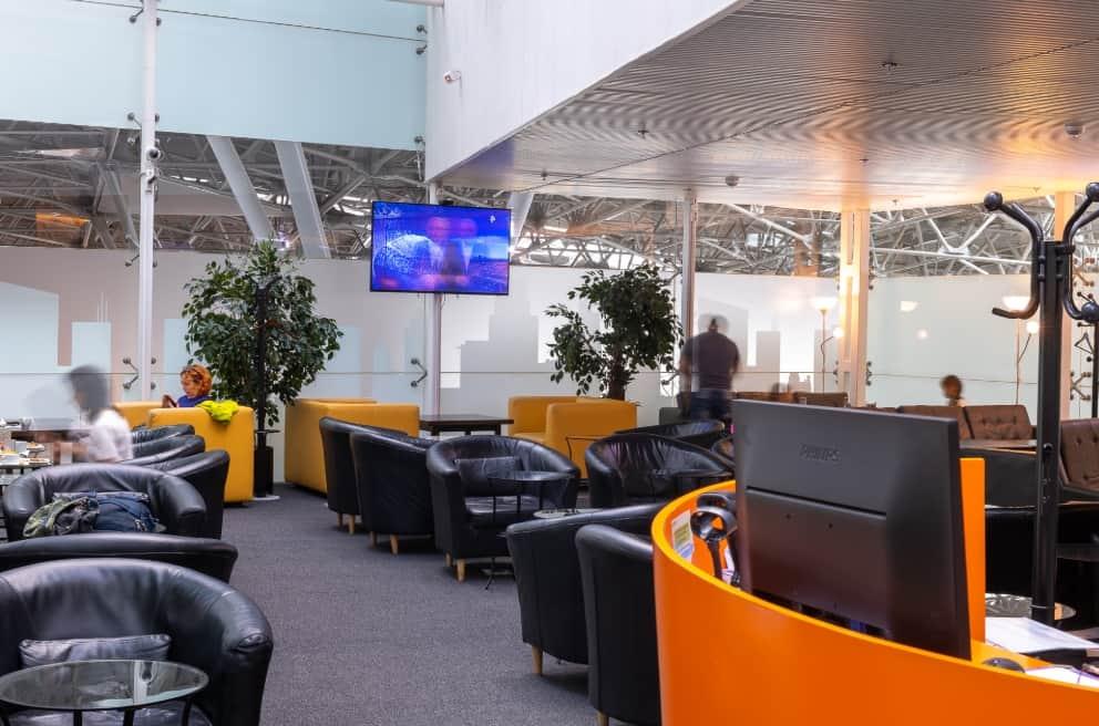 Лаунж-зона TOP Lounge