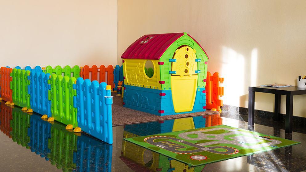 Место для детей в vip lounge