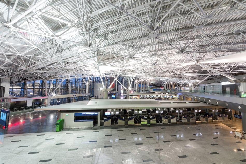 Аэропорт Внуково внутри