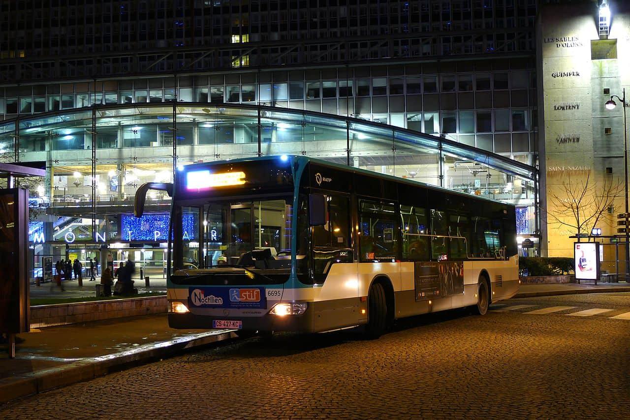 Как выглядит Автобус Noctilien