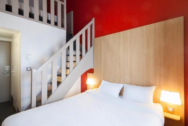 Кровать в B&B Hôtel Paris Roissy CDG Aéroport