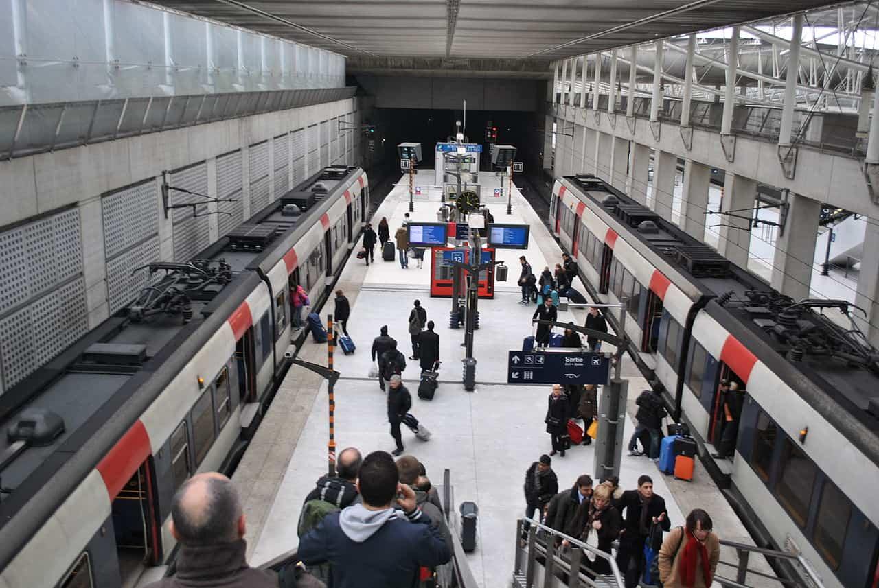 RER B в Париже