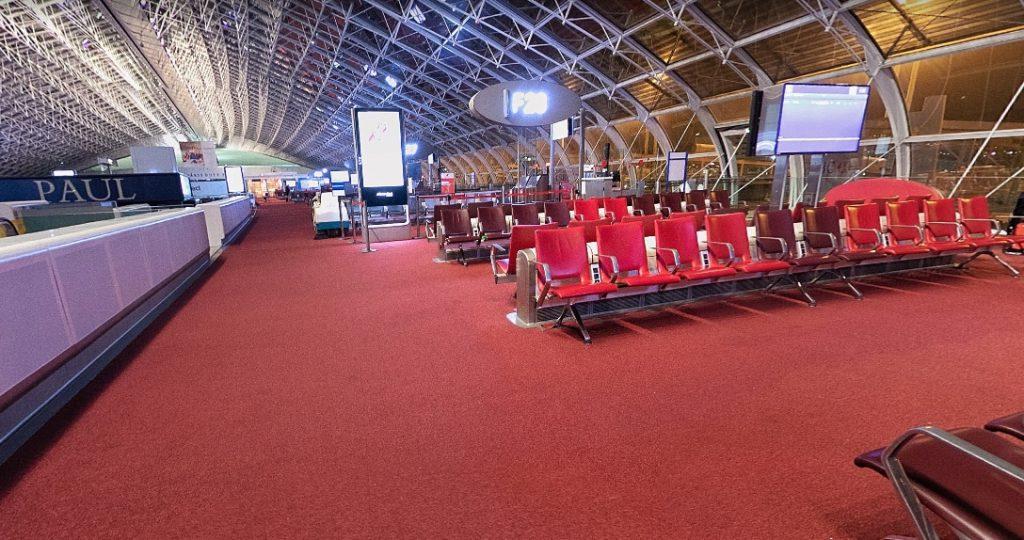 Терминал 2F в аэропорту
