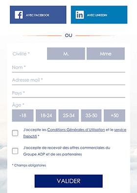 Регистрация для подключения к Wi-Fi